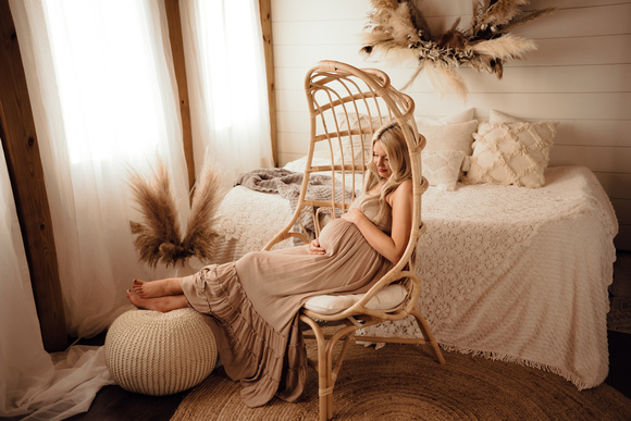 Ethereal-Maternity-Studio-Session-Katy-TX